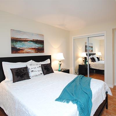 Modern rental with a condo feel
